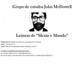 Grupo de Estudos John McDowell